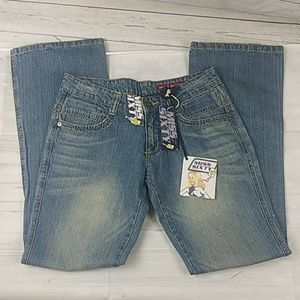 Miss Sixty Jeans NWT Boot Cut Size 30 Eden